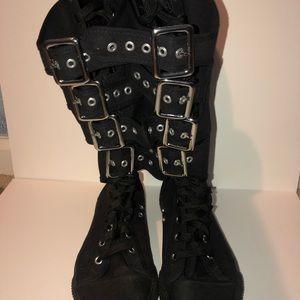 Demonia Knee High Boots